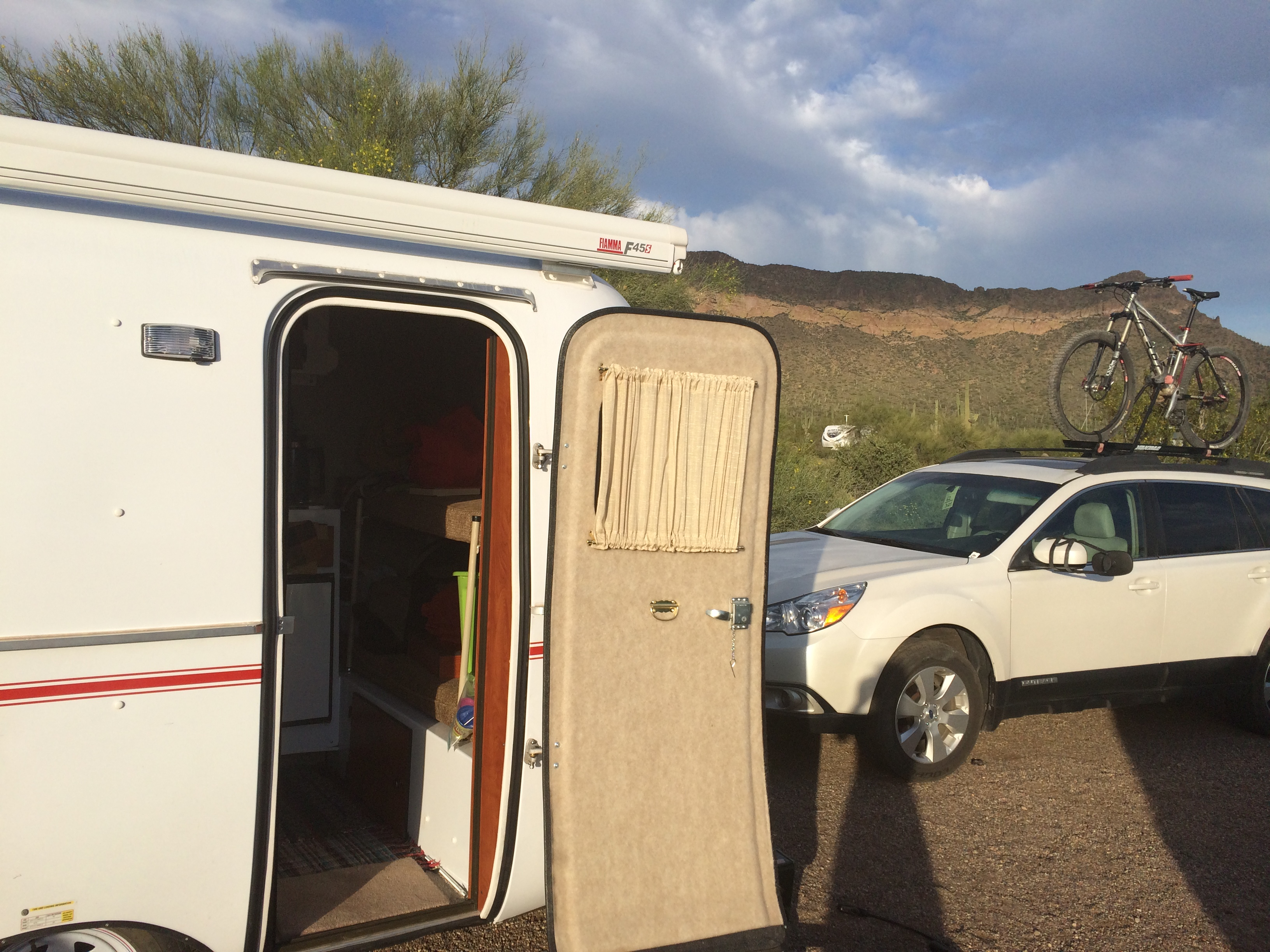 Camping at Usery Mountain Regional Park