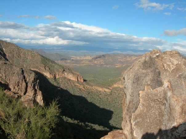 View from the top of Pass Mountain