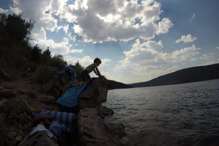 Family Adventures at Flaming Gorge (Week 1)